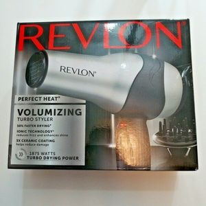 Revlon Perfect Heat 1875W Ionic 3x Ceramic Turbo